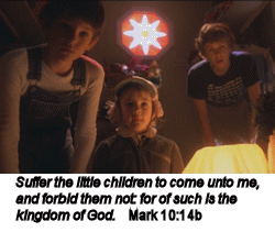 Suffer the little children to come...