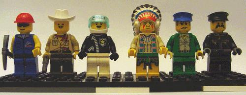 Village People Lego figures