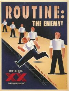 A Dos Equis advertisement circa 1999